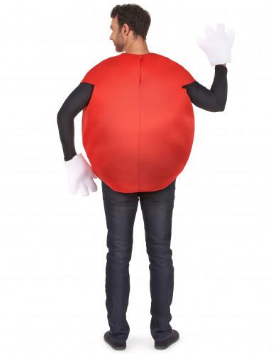 Rood snoep kostuum voor volwassenen-2