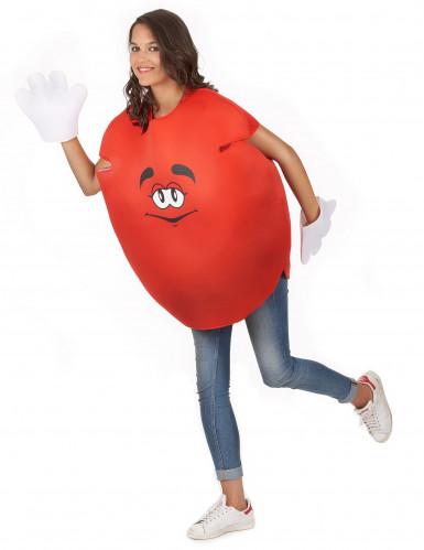 Rood snoep kostuum voor volwassenen-4