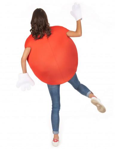 Rood snoep kostuum voor volwassenen-5