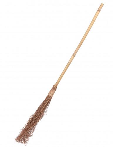 Bamboe heksen bezem - 88 cm