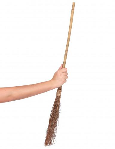 Bamboe heksen bezem - 88 cm-1