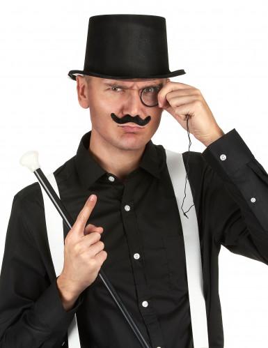 Zwarte hoed voor volwassenen -1