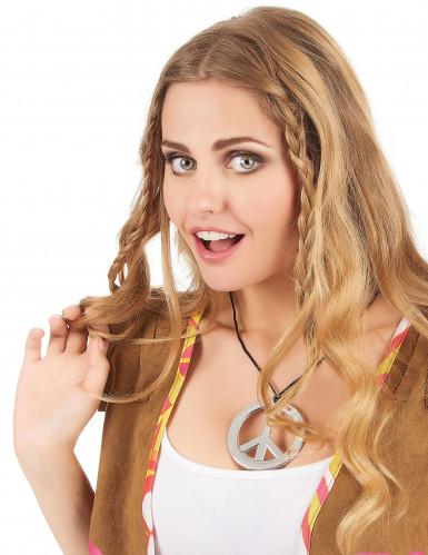 Plastic hippie halsketting voor volwassenen-1