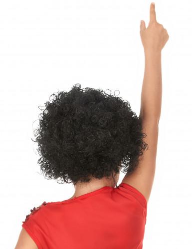 Zwarte afro pruik voor kinderen-1