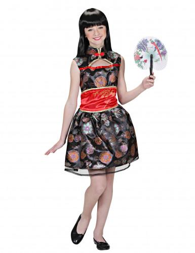 Chinese meid kostuum voor meisjes