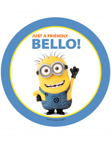 Taartdecoratie van The Minions�