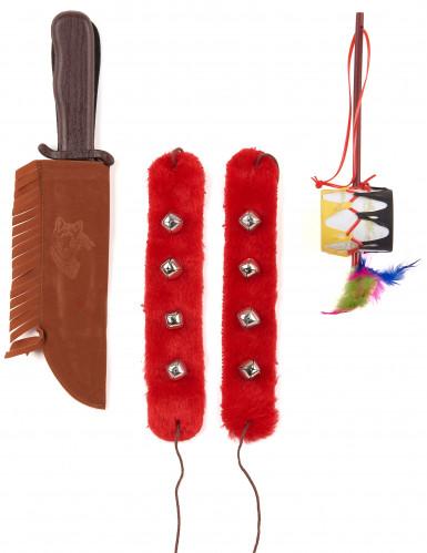 Indianen accessoires set voor volwassenen