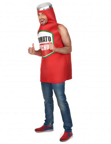 Tomaten ketchup kostuum voor volwassenen -1