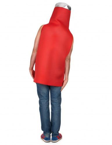 Tomaten ketchup kostuum voor volwassenen -2