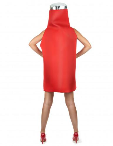 Tomaten ketchup kostuum voor volwassenen-4