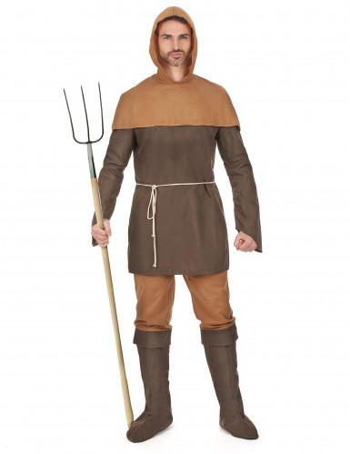 Middeleeuwse boer kostuum voor heren