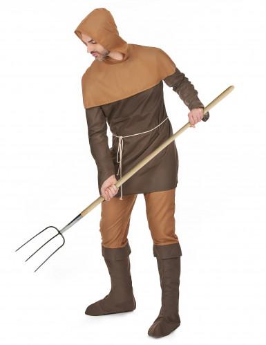Middeleeuwse boer kostuum voor heren -1