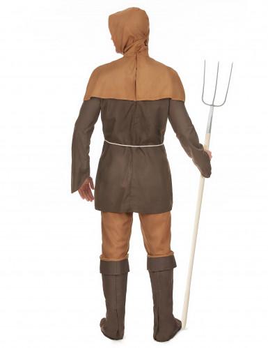Middeleeuwse boer kostuum voor heren -2
