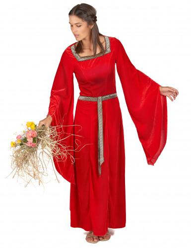 Middeleeuwse dame kostuum voor vrouwen-1