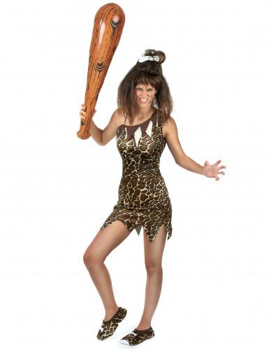 Prehistorische vrouw kostuum-1