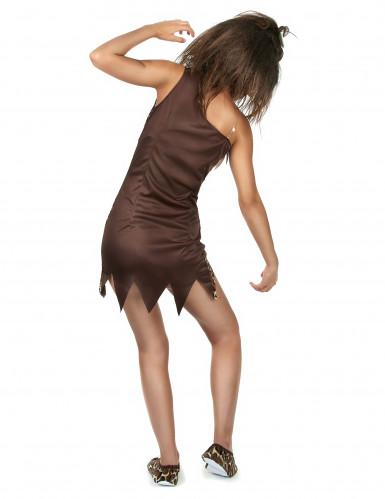 Prehistorische vrouw kostuum-2