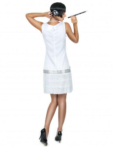 Wit charleston kostuum voor vrouwen-2