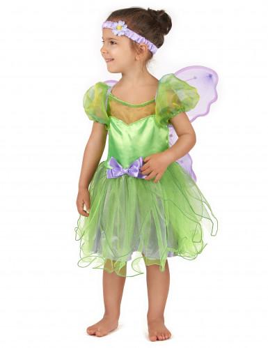 Groene fee kostuum voor meisjes-2