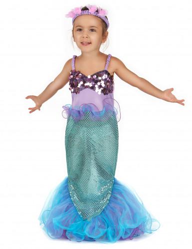 Glinstrend zeemeermin kostuum voor meisjes