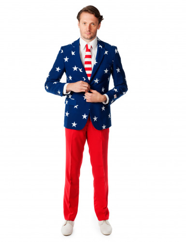 Mr. USA kostuum voor heren Opposuits™