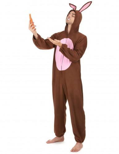 Konijn kostuum voor mannen -1