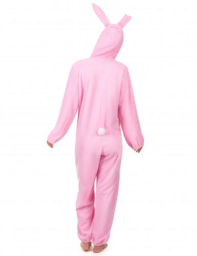 Roze konijnen kostuum voor vrouwen-2
