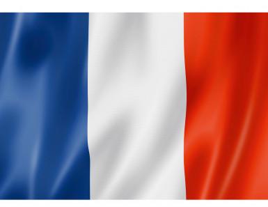 Frankrijk vlag 90 x 60 cm