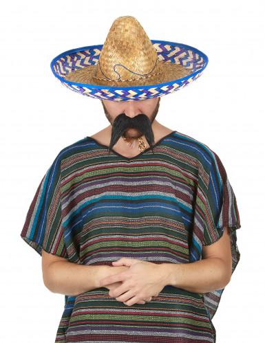 Mexicaanse stro hoed voor volwassenen-1