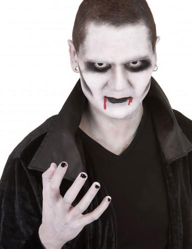 Schmink set vampier met contactlenzen voor volwassenen