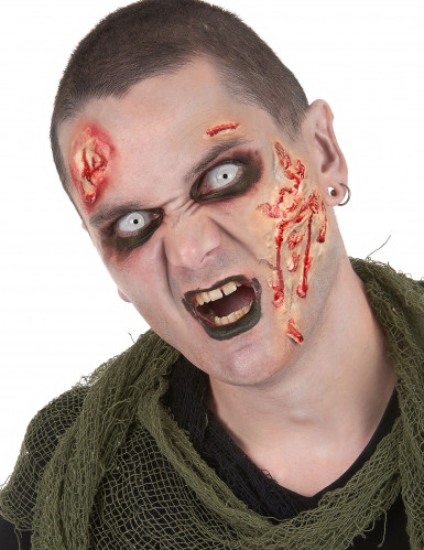 Halloween Zombie make-up set volwassenen