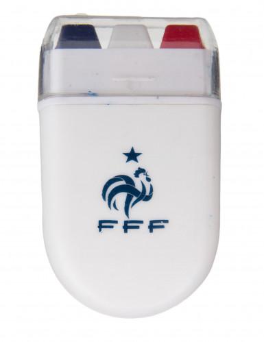 Driekleurige Frankrijk FFF™ schmink