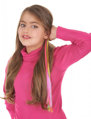 Veelkleurig haarlok