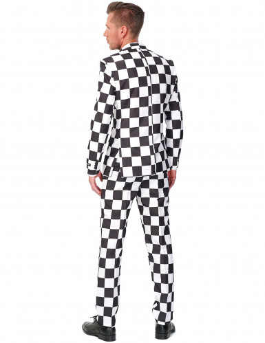 Zwart-wit Suitmeister™ kostuum voor heren-1