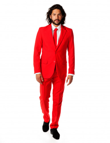 Mr. Red kostuum voor mannen Opposuits™