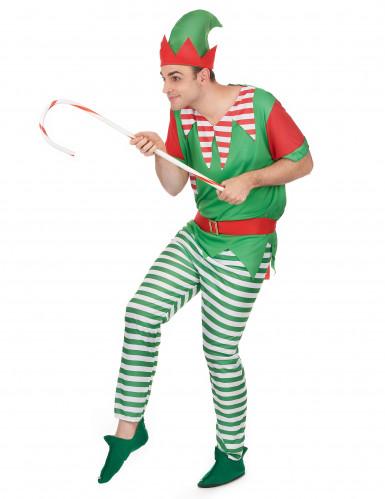 Kerstkabouter kostuum voor koppel-1
