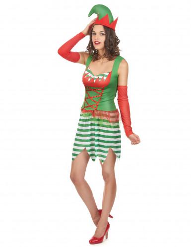 Kerstkabouter kostuum voor koppel-2