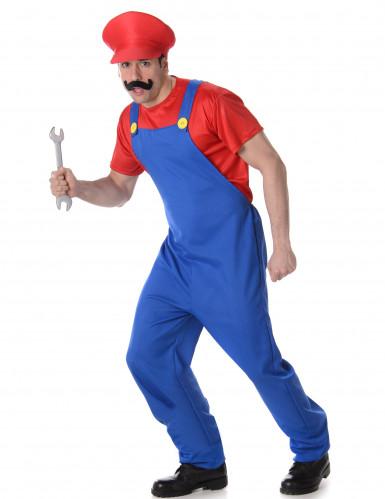 Rood loodgieter kostuum voor volwassenen