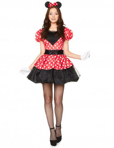 Miss Mouse kostuum voor vrouwen -1