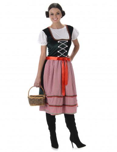 Klassieke dirndl jurk voor vrouwen