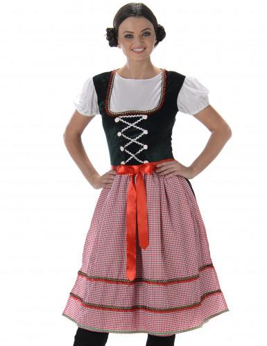 Klassieke dirndl jurk voor vrouwen-1