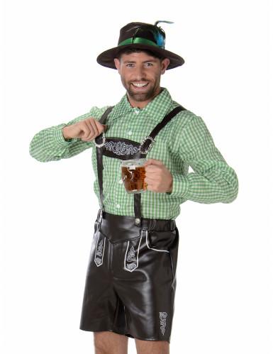 Groene Beierse kostuum voor heren-1