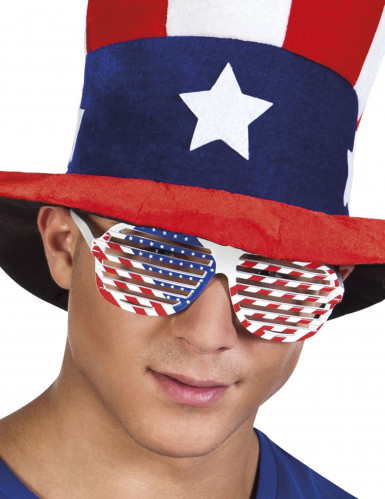 Witte bril USA voor volwassenen
