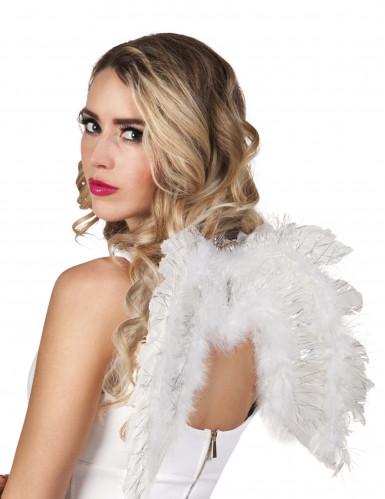 Witte engel vleugels voor volwassenen