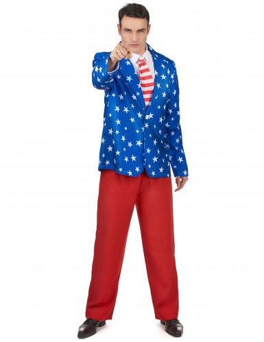 Mr. America kostuum voor heren