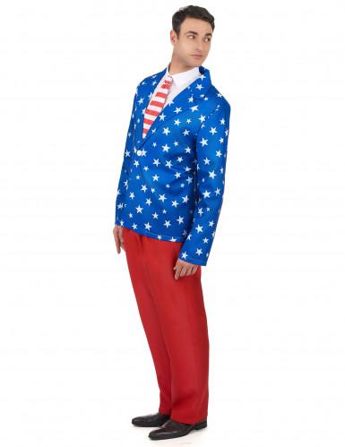 Mr. America kostuum voor heren-1