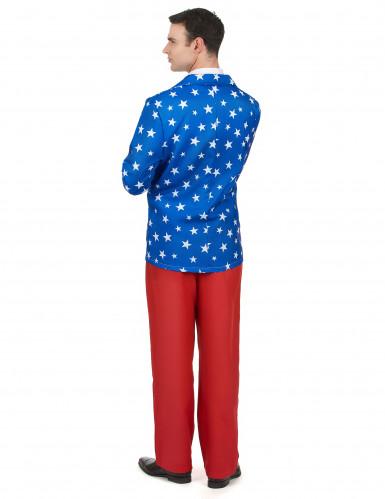 Mr. America kostuum voor heren-2