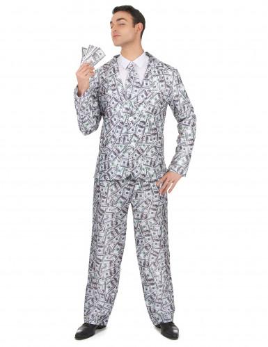 Mr. Dollar kostuum voor heren