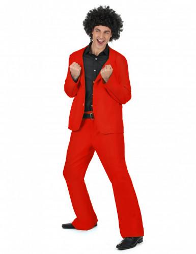 Rood disco kostuum voor heren-1