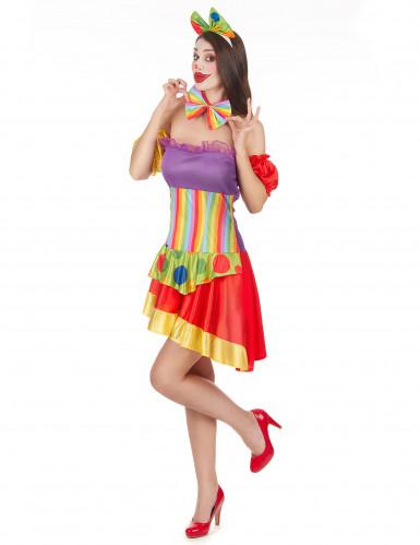 Clownskostuum voor vrouwen-1