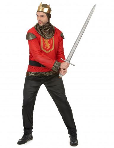Rood ridder kostuum voor heren-1